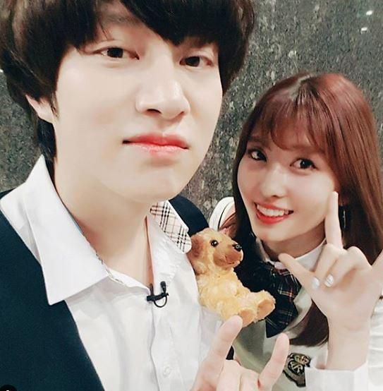 Dating - Heechul (Super Junior) + Momo (TWICE): rumors of SM and JYP have come true 1
