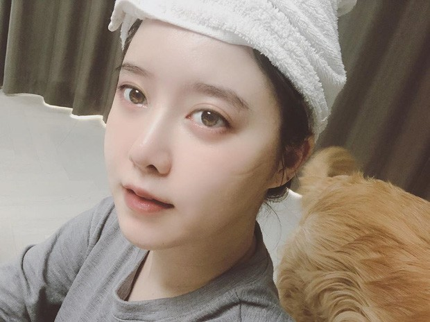 Goo Hye Sun caused anxiety when posting selfies with psychological signs of instability! 2