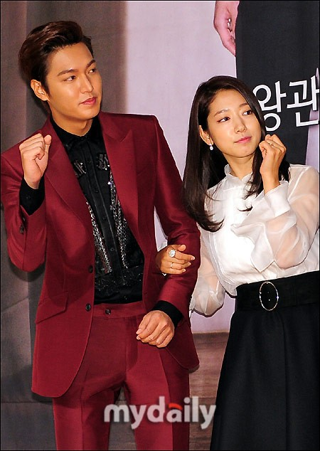 Boyfriend Park Shin Hye: Handsome but the popularity is far behind the rumored lover Lee Min Ho! 2