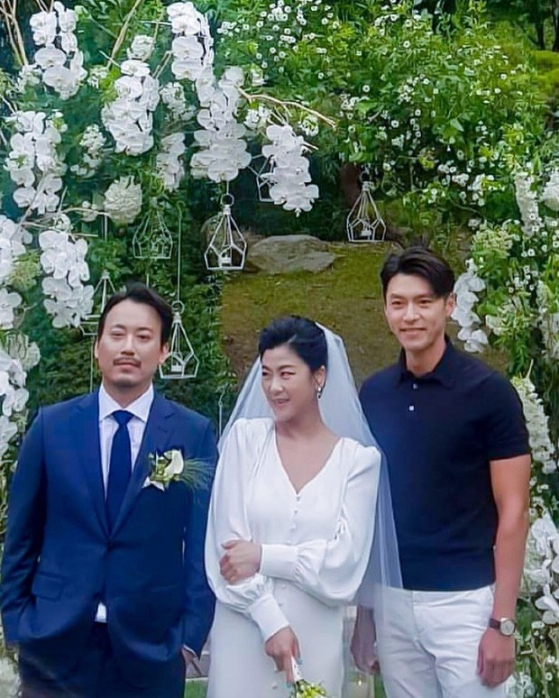 Hyun Bin suddenly appeared at the Stylist's Wedding - Super handsome alongside Shin Min Ah and Gong Hyo Jin. 1