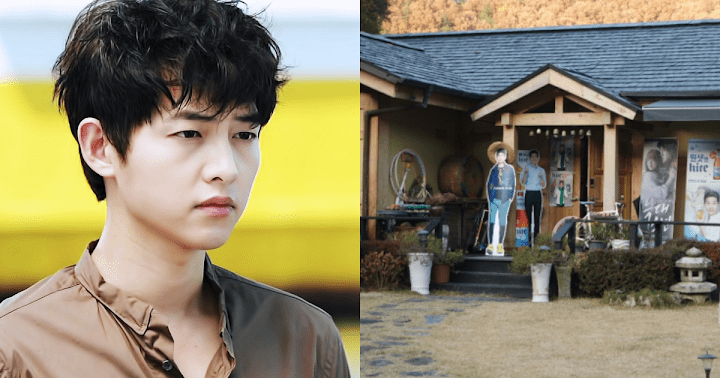 Song Joong Ki decided went to his father's house in Daejeon to self-quarantine! 1