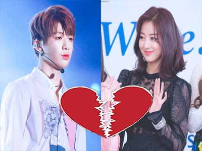 BREAKUP ? Kang Daniel and Jihyo TWICE have not seen each other for two months.