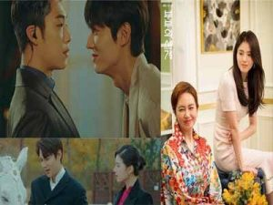 "Lee Min Ho and Kim Go Eun's ""The King: Eternal Monarch ''"