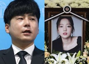Goo Hara's brother holds a press conference: crying because his young sister's protection law is rejected, selfish mother can get 50% of the property.