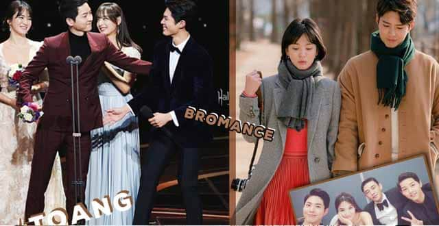 Strange relationship of Song Joong Ki - Park Bo Gum: Used to cry for each other, as the wedding MC but different after the divorce?