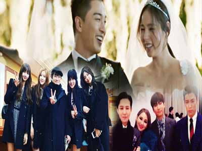 Taeyang revealed the moment of the wedding with Min Hyo Rin, BLACKPINK and the guest stars - hot after 2 years!