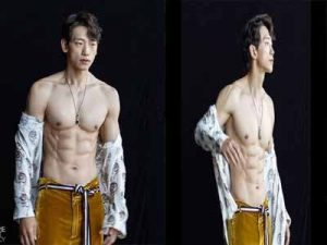 The 40-degree heat is not as hot as Bi Rain's body: 38-year-old husband of Kim Tae Hee - show off his muscular !!