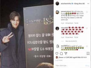 Jung Il Woo sends a coffee truck to cheer on Lee Min Ho and Ekip The King: Eternal Monarch: The best friendship in Kbiz!