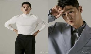 Song Joong Ki COMEBACK with a set of photos after divorce