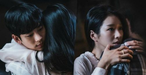 Rating It S Okay To Not Be Okay Increased Thanks To The Super Sweet Cuddle Moment Of Seo Ye Ji And Kim Soo Hyun Lovekpop95