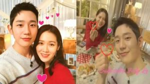 How did Jung Hae In and Son Ye Jin talk about their dating rumors?