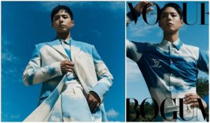 Park Bo Gum appeared cool in the magazine before he enlisted in the army!