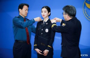 Revealed two Korean actresses appointed as police officers! 1