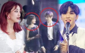 After breaking up rumors, Kang Daniel face-to-face TWICE's Jihyo at the Soribada Awards 2020