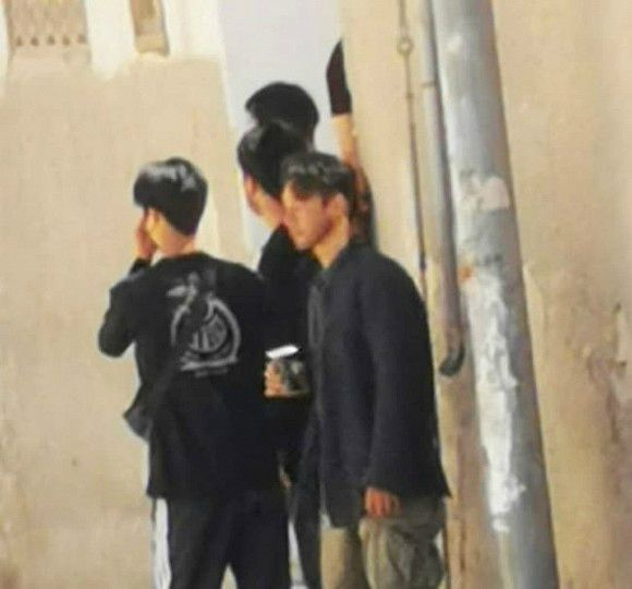 Hyun Bin Latest News 2020- Hyun Bin leaked dramatic images at the film studio in Jordan! 2