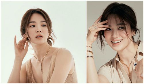Appearing after denying living with Hyun Bin, Song Hye Kyo is beautiful as a goddess: Song Joong Ki has missed the top 'beauty treasures'