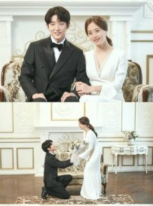 Lee Joon Gi and Moon Chaewon wedding photos - face each other, filled with love and happiness! 1