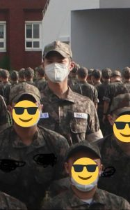 Leak of Park Bo Gum in military uniform: Knet praised being handsome despite the mask covering his face! 1