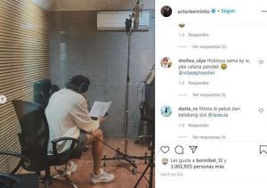 HOT- Lee Min Ho reappears in recording studio and hints at new project 1
