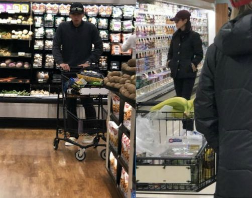 HOT- Netizens spotted Hyun Bin and Son Ye Jin dating, openly go shopping like a married couple. 3