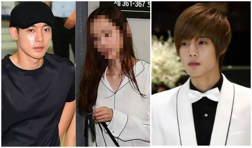 A portrait of Kim Hyun Joong's ex-girlfriend - The woman who destroy Kim Hyun Joong's career with accusing her of being forced to have an abortion. 1
