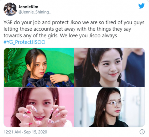 """SHOCKED- Jisoo was """"terrorized"""" by fans of BLACKPINK and fans of Suzy - BTS, sexually harassed and even threatened to kill. 1"""