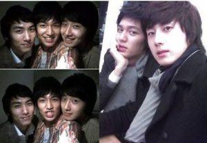 Lee Min Ho, Kim Bum, and Jung II Woo