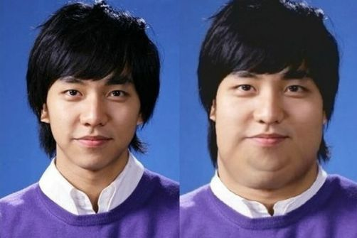 Dispatch climbed a fat trend: Lee Min Ho looked the most pathetic, the most shocking Hyun Bin! 4
