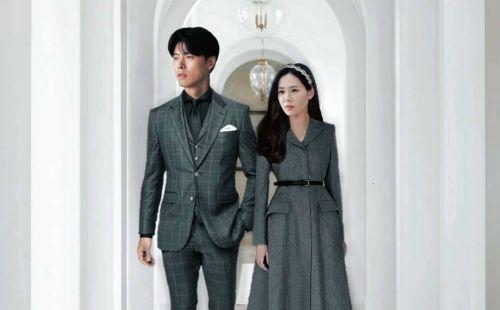 Hyun Bin and Son Ye Jin