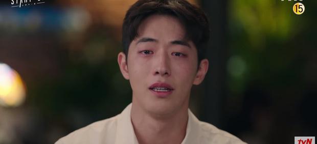Suzy burst into tears