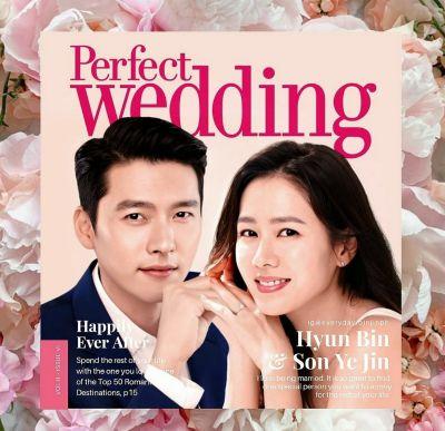Hyun Bin and Son Ye Jin Wedding
