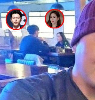 Hyun Bin and Son Ye Jin were caught dating