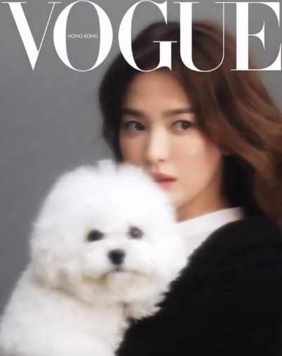 Song Hye Kyo appeared beautifully on Vogue Hong Kong magazine, proving her beauty became more and more beautiful after the divorce. 3