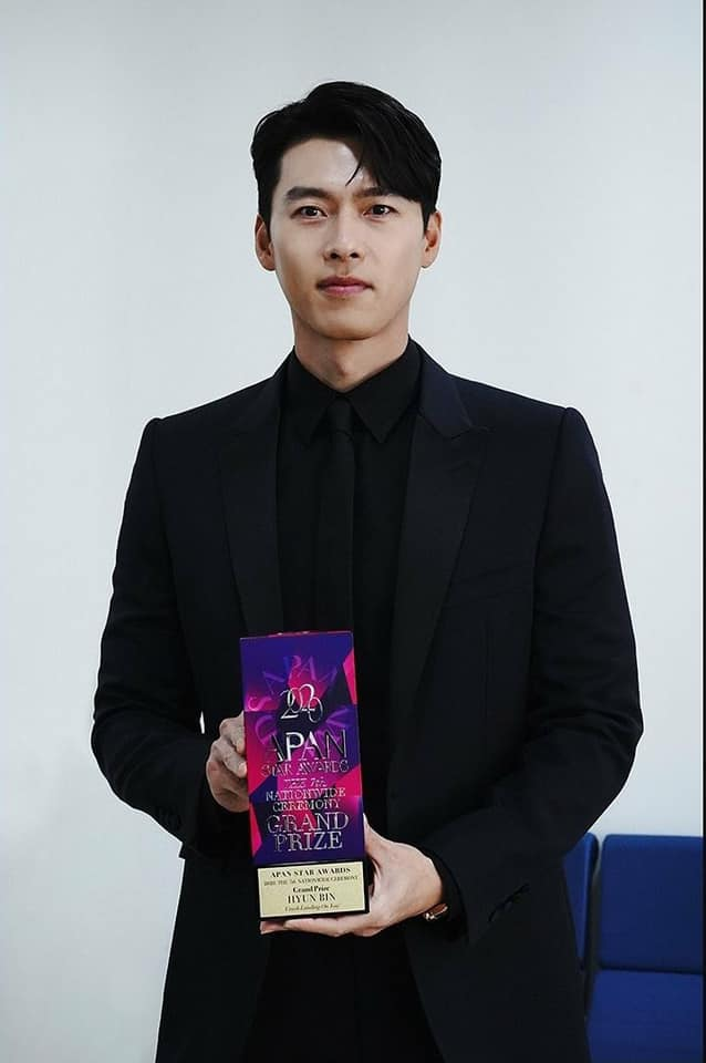 HOT- Hyun Bin excellently won the PAN 2020 Daesang Awards! 1