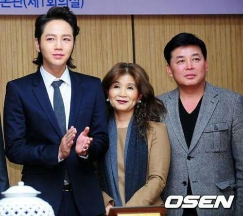 Jang Geun Suk's mother