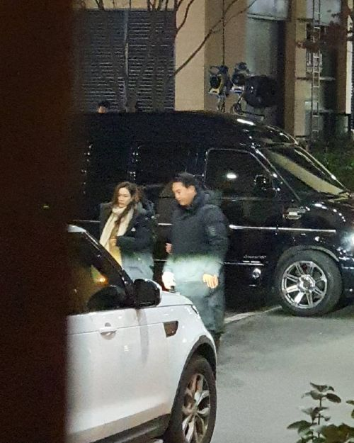 Close-up of Son Ye Jin's car