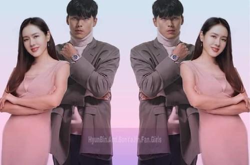 Son Ye Jin's cute action to protect Hyun Bin