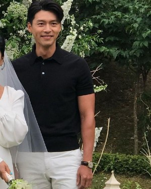 Hyun Bin went to a wedding party that caused fever on social networks!!! 2