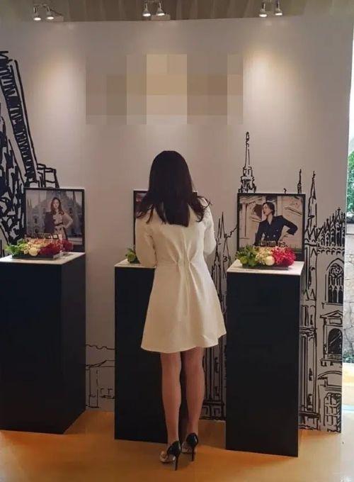 "Revealing the real photo of ""Hyun Bin's girlfriend"", no chance for anti-fan to disparage !! 2"