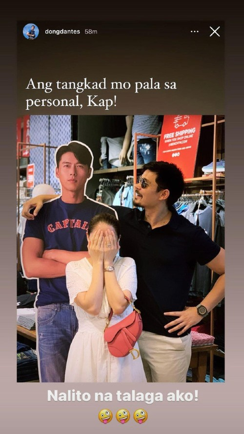 The humorous reaction of the husband of the most beautiful woman in the Philippines when his wife falls in love with Hyun Bin! 1