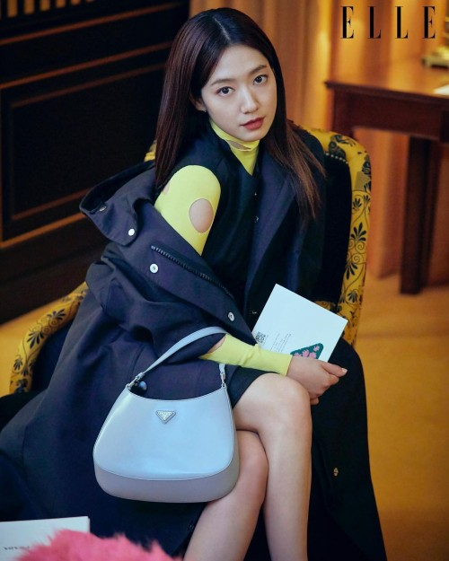 Park Shin Hye appeared in Prada magazine after being criticized for acting badly in Sisyphus: The Myth! 2