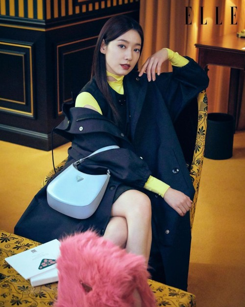 Park Shin Hye appeared in Prada magazine after being criticized for acting badly in Sisyphus: The Myth! 1