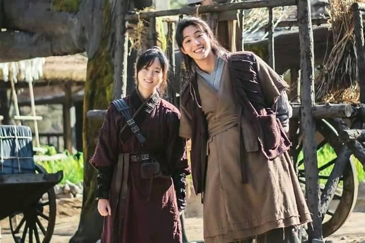 """""""River Where The Moon Rises"""" of Kim So Hyun and Ji Soo"""