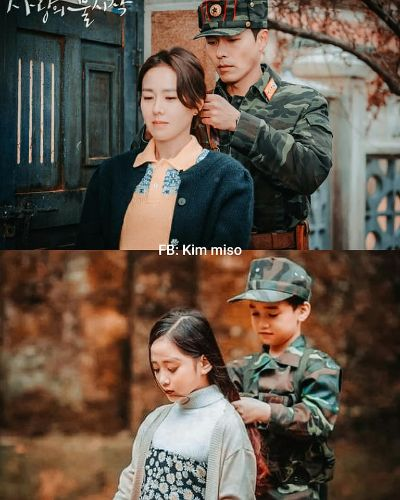 Kids version Hyun Bin and Son Ye Jin storm social networks because they are so cute! 3