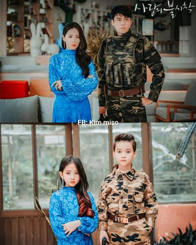 Kids version Hyun Bin and Son Ye Jin storm social networks because they are so cute! 4