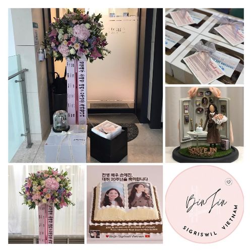 Son Ye Jin's 20th anniversary, caused a storm on social media because fans gave gifts as wedding gifts! 2