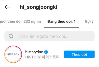 Song Joong Ki finally opened his personal Instagram, And he only followed a special account! 2