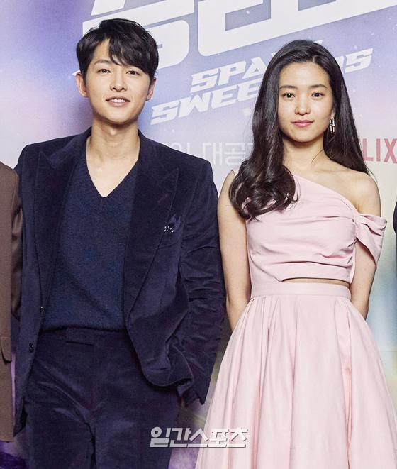 Song Joong Ki appeared radiant with Kim Tae Ri at the Space Sweepers press conference! 3