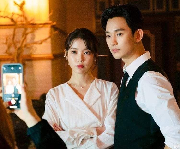 IU and Kim Soo Hyun