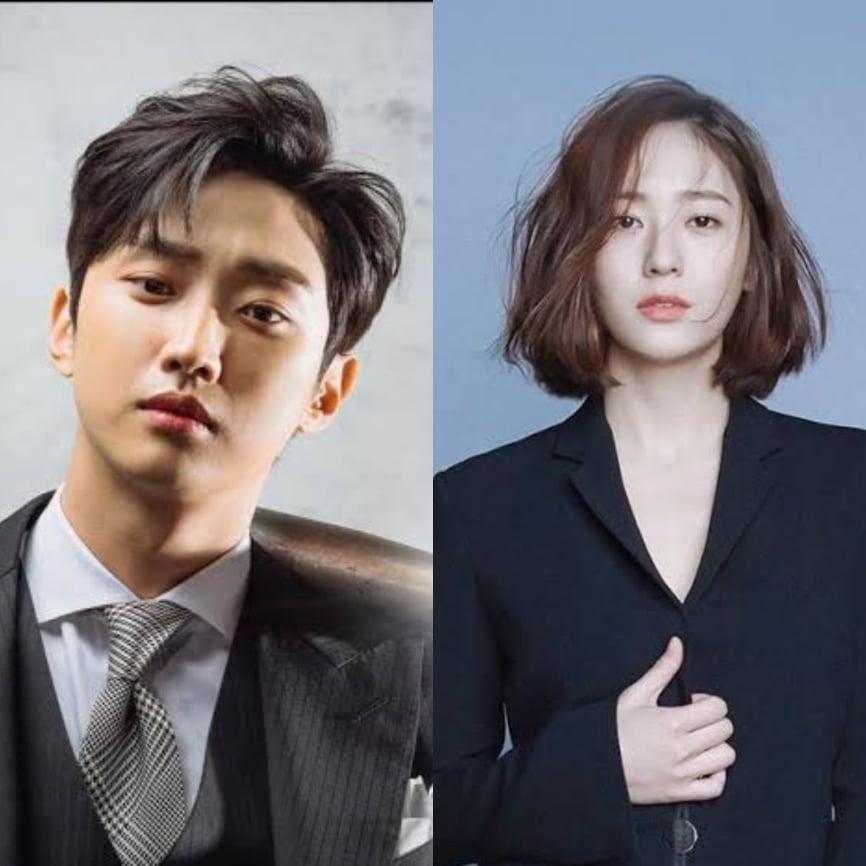 Jung Jinyoung and Krystal Jung